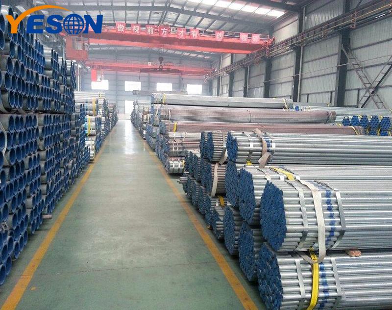 Galvanized Round Steel Pipe