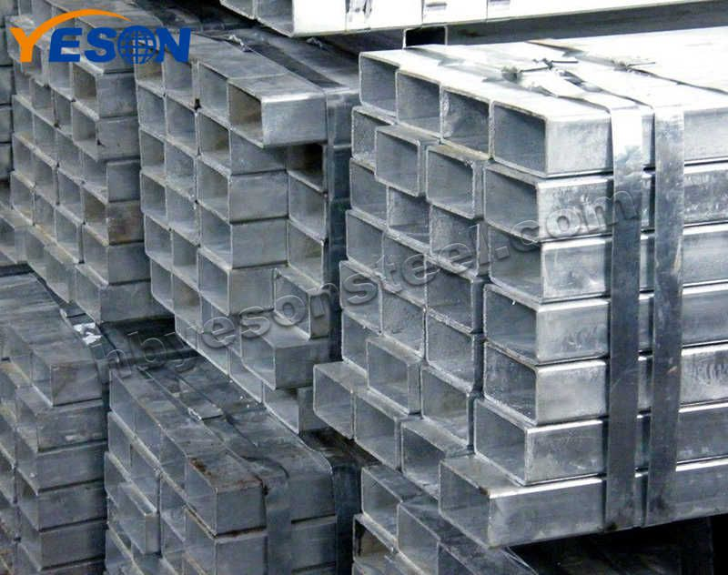 Galvanized Steel Square Pipe