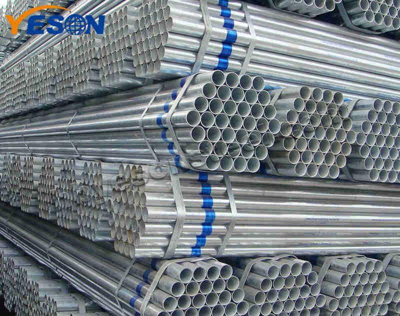 Pre Galvanized Steel Round Pipe