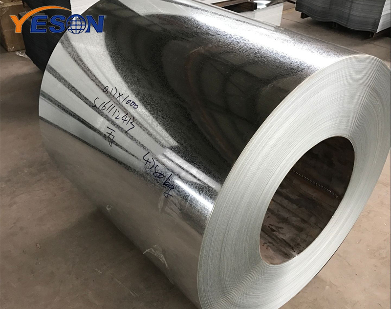 What are galvanized coils usually used for?