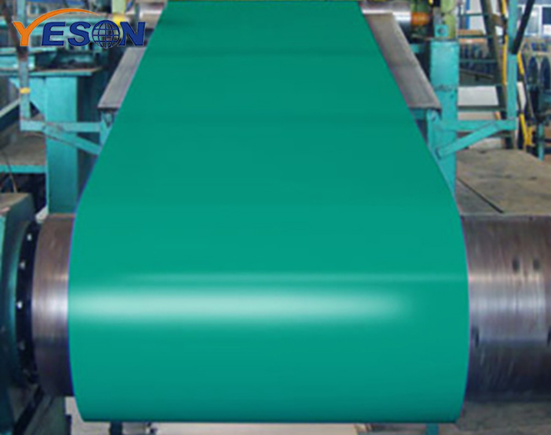 Application of pre-painted galvanized steel coil