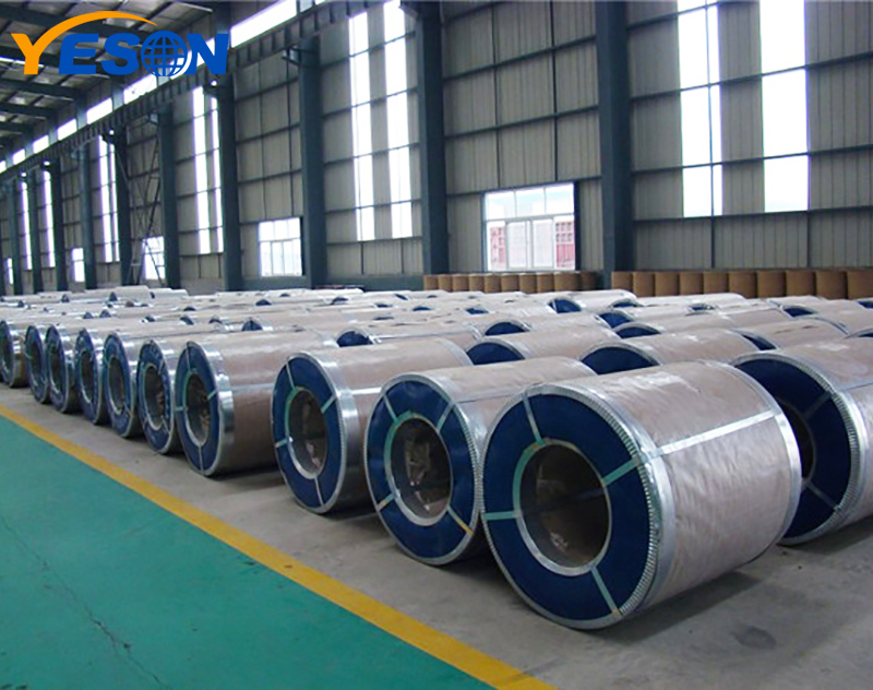 In which environment is aluminum coil suitable for storage?