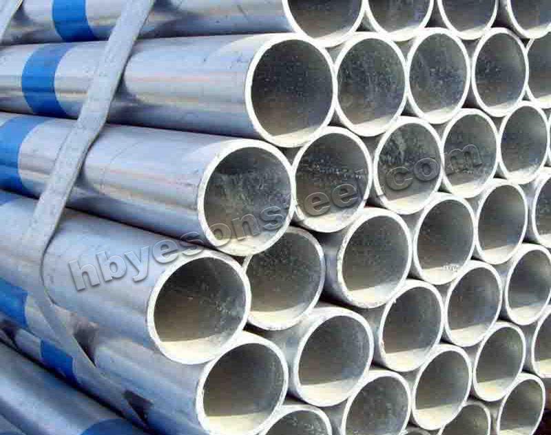 Galvanized round Pipe