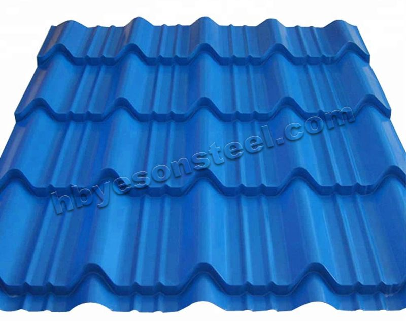 Colorcorrugated roof steel sheet