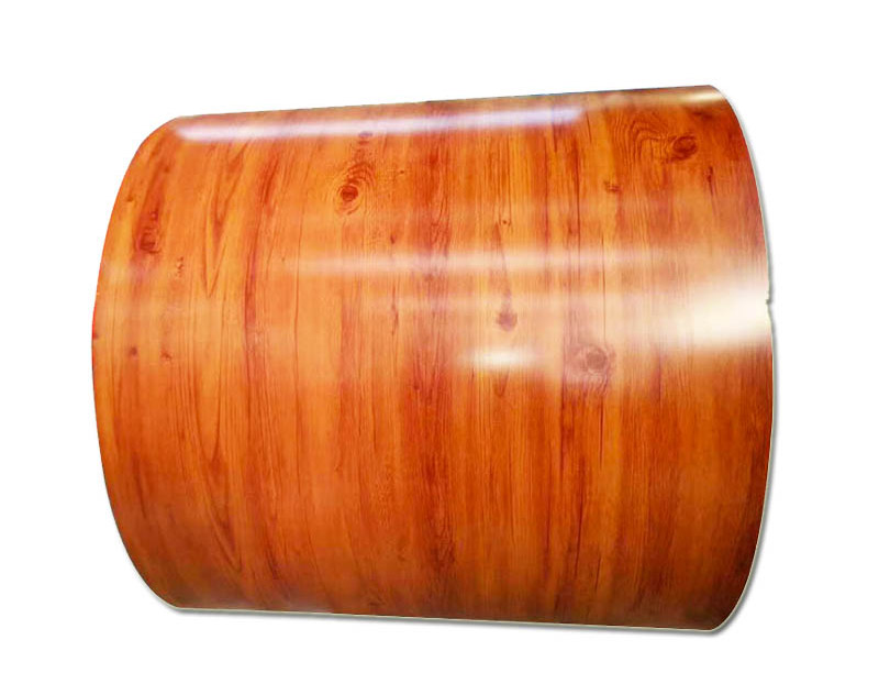 How to reflect the inspection standards of wood grain pre painted steel coil