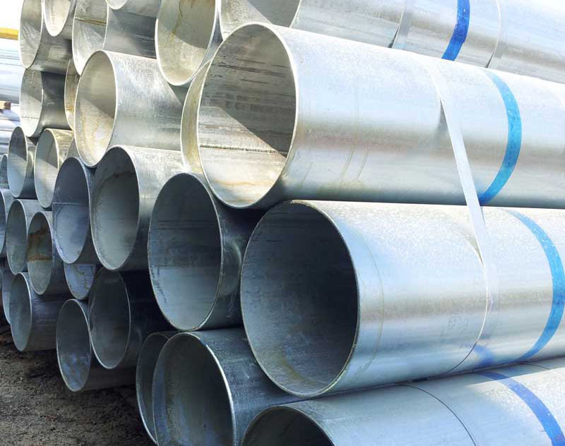 The difference between galvanized round pipe and hot-dip galvanized steel pipe