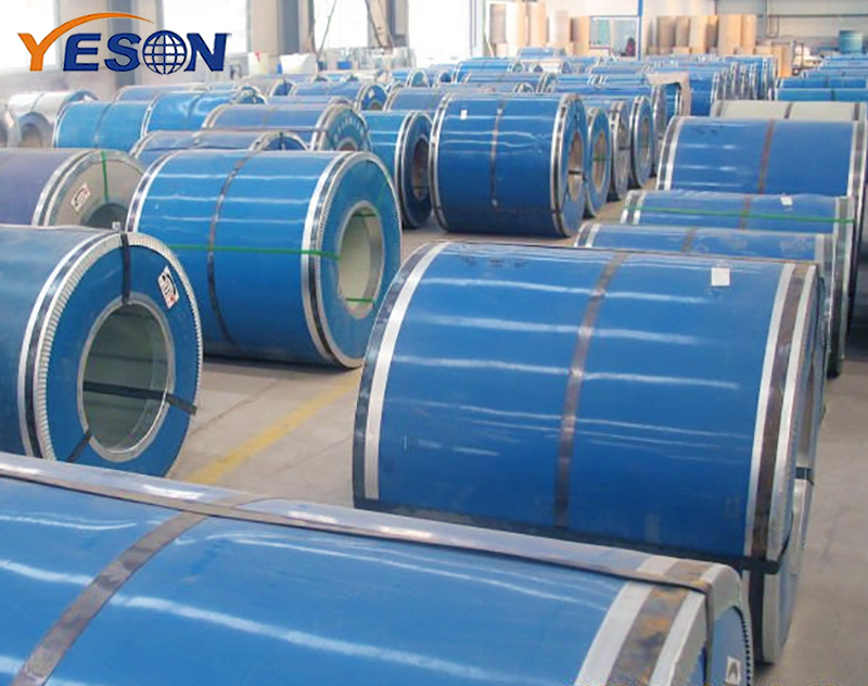 What factors are related to the service life of color steel coils