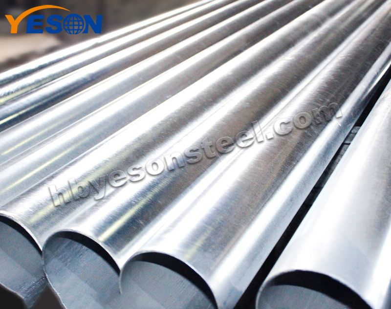 Hot Galvanized Steel Round Pipe