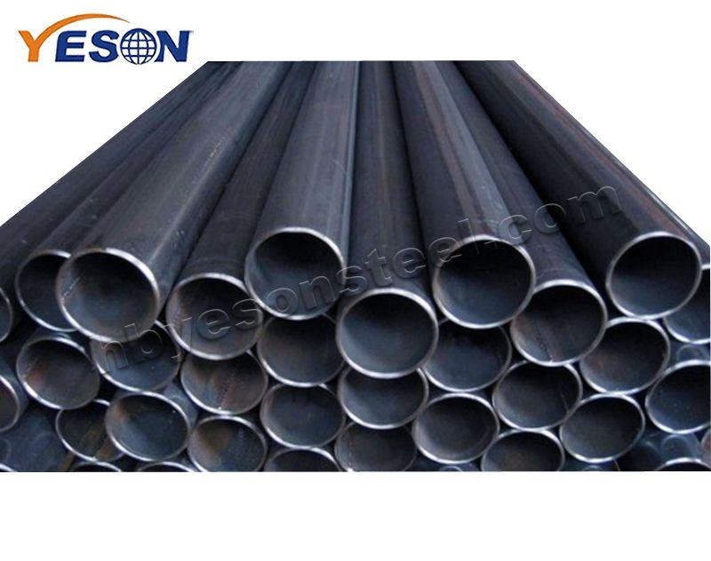 Black steel round pipe